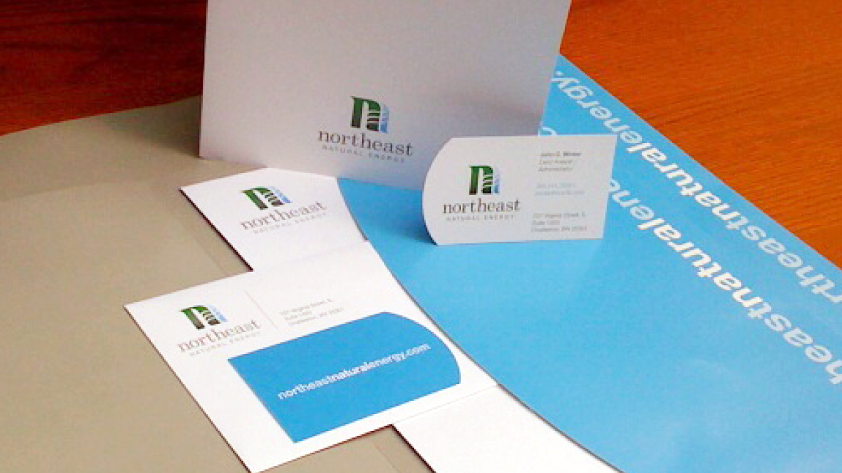 Northeast Natural Energy - Stationery