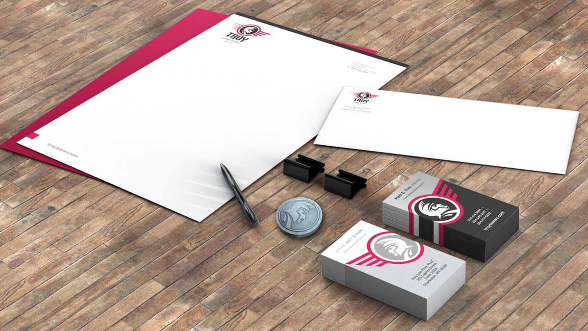 Troy Law Firm PLLC - Stationery Package
