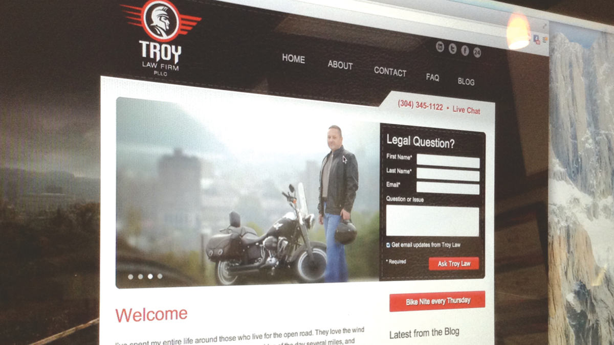 Troy Law Firm PLLC - Website Launch