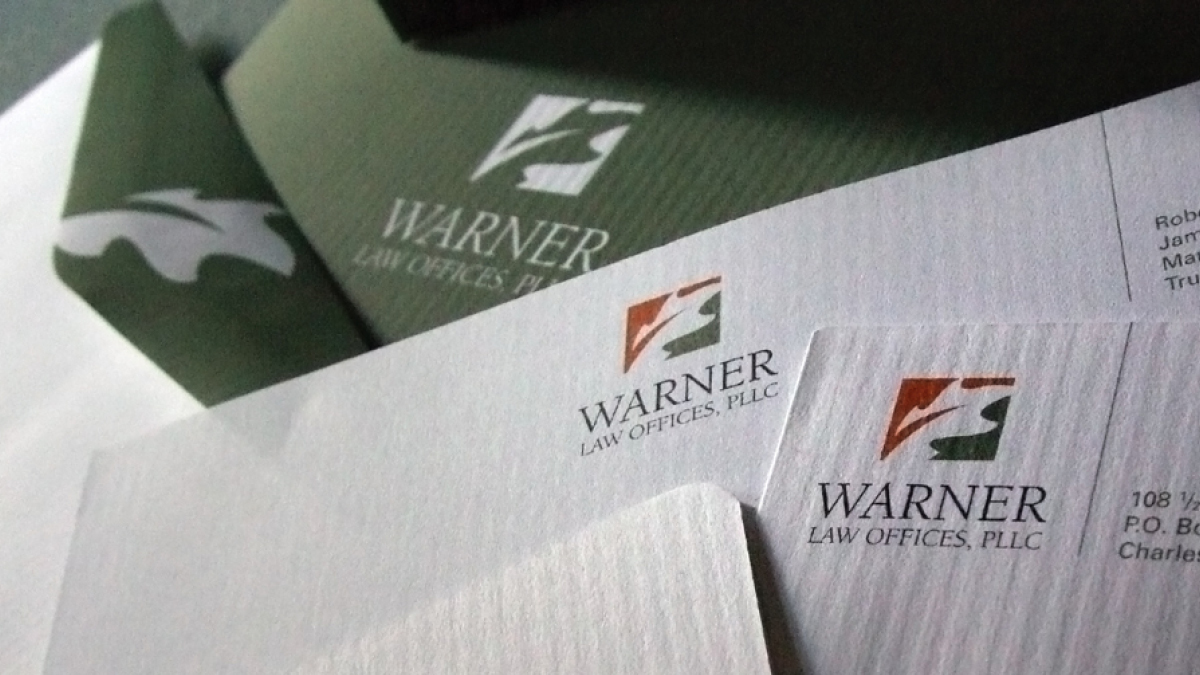 Warner Law Office - Stationary