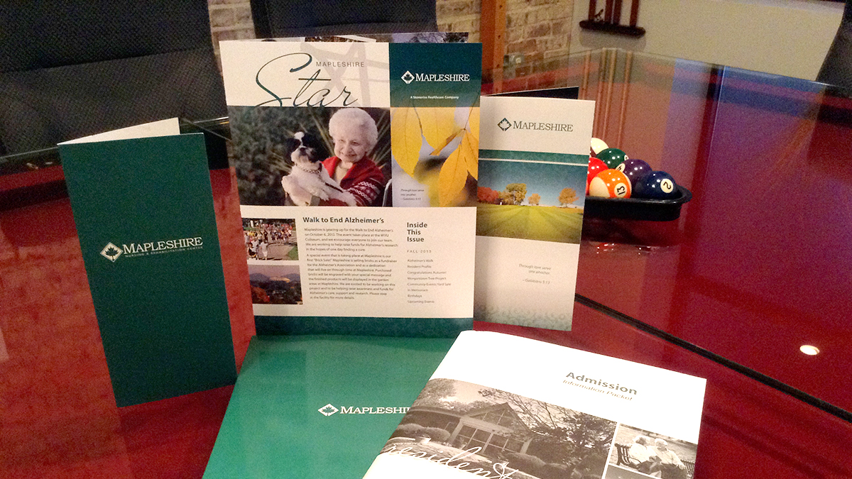 Mapleshire - Print Collateral