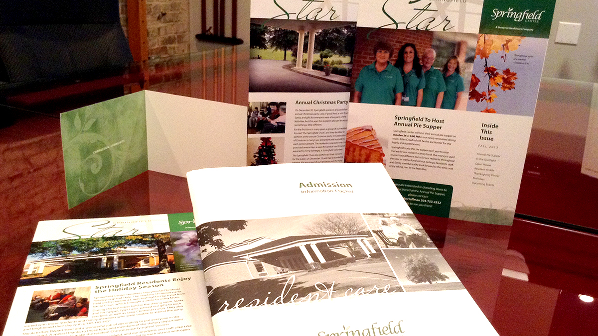 Springfield - Print Collateral